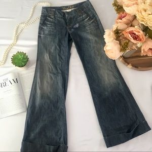 Anthropologie Level 99 flare jeans